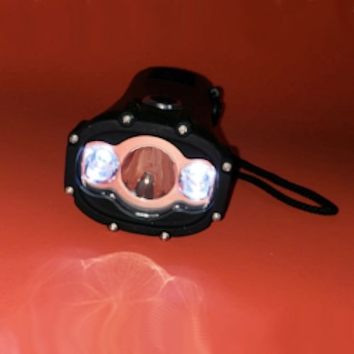 Vortex Crank LED Flashlight