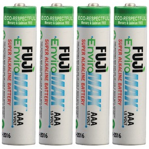 Fuji Battery 4400BP2, EnviroMax AAA, Case quantities 96 to 576 cells. Blister packs 2, 4, 8, 24 and 48 cells