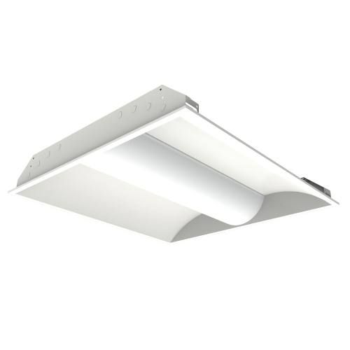 LED Troffer Light BCBLED22-30W Steel housing, acrylic lens, 2x2 foot, dimmable, 4 CCT options.