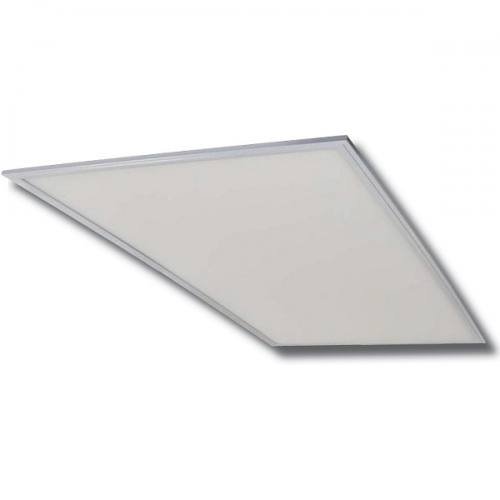 """24""""x48""""x2"""" ultra-thin aluminum panel light with acrylic lens. Dimmable with four CCT color options."""