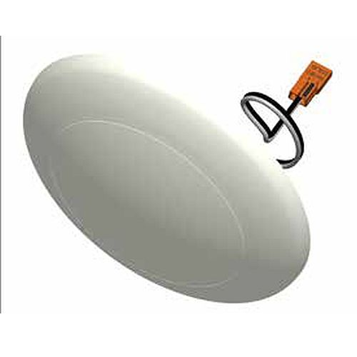 7- inch diameter dimmable saucer shape dome light molded from thermoplastic. 1200lm output at 14W with 2 CCT options.