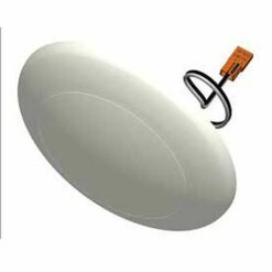 5- inch diameter dimmable saucer shape dome light molded from thermoplastic. 700lm output at 8W with 2 CCT options.