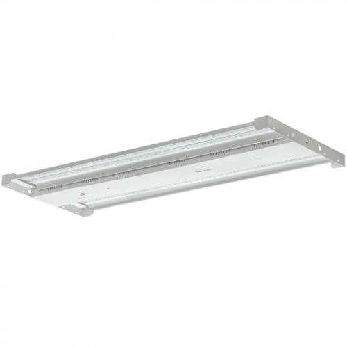 LEDHB160 LED High Bay, 43x17x2 inch, 160W, steel body, dimmable, 22,256lm, DLC premium