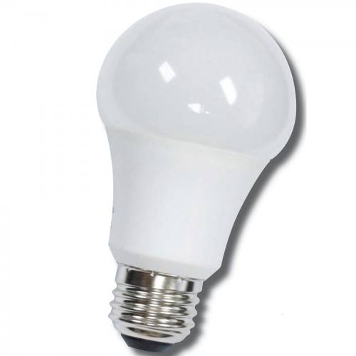 12-LEDA19-9W-D standard shape 9W LED dimmable light bulb. Edison E-26 medium screw base fits standard socket.