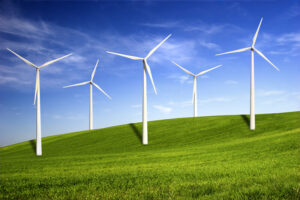Wind Energy wind turbines generating clean energy